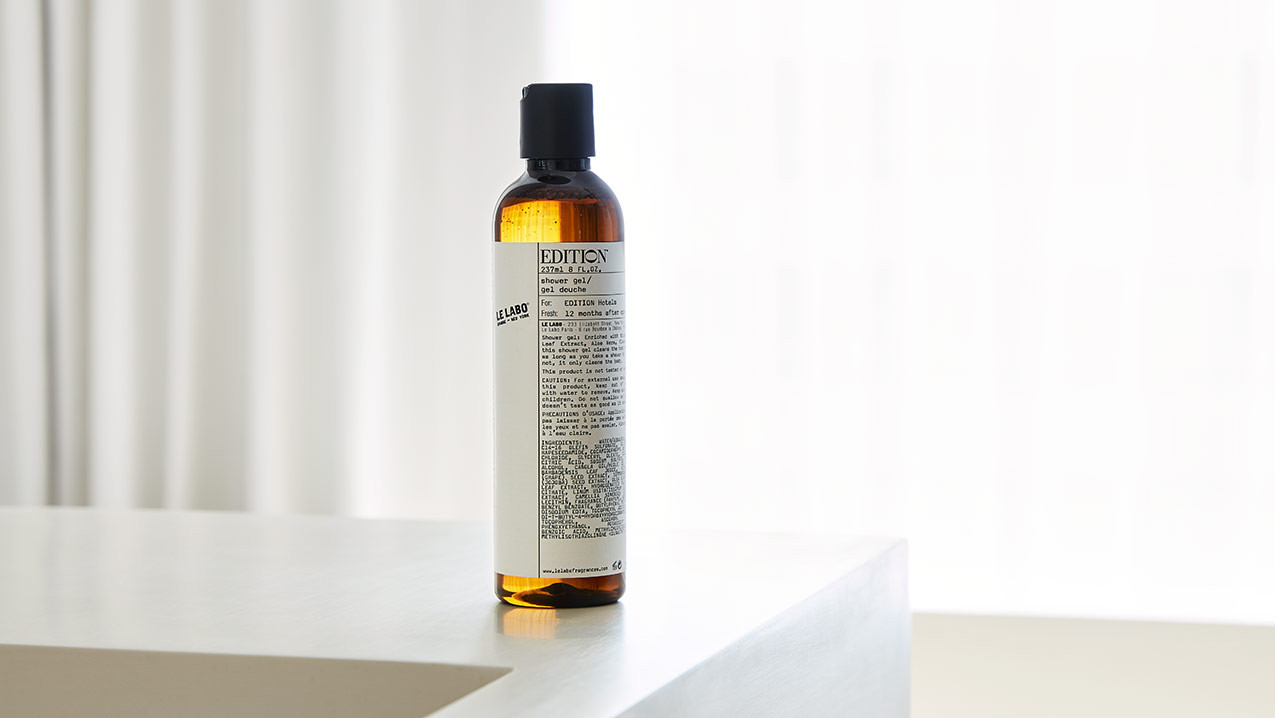 Le Labo Shower Gel Shop Edition Robes Towels And Le Labo Shower Essentials